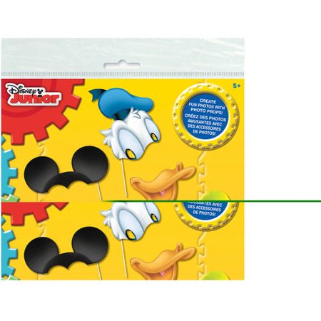 Mickey Mouse Photo Booth Props, 8pc - Mickey Party Ideas