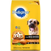 PEDIGREE For Big Dogs Adult Complete Nutrition Roasted Chicken, Rice and Vegetable Dry Dog Food 36.4 Pounds