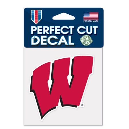 Wisconsin Badgers 4X4 Color Die Cut Decal