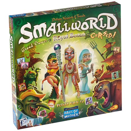 These Days Box - Small World: Power Pack Vol 2, Three previous small world expansions in one box! By Days of Wonder