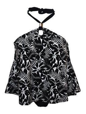 Simply Fit Women's Plus Size 2 Piece Halter Style Tankini Swimsuit Set 16-24