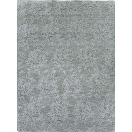 13' Wool - Surya Mystique 9' x 13' Hand Loomed Wool Rug in Blue