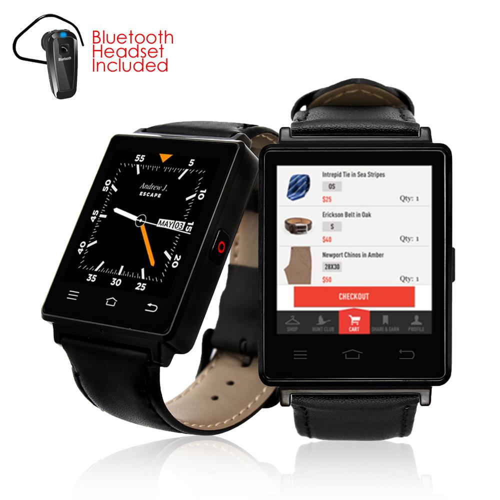 inDigi Sleek Android 5.1 3G Unlocked AT TMobile SmartWatc...