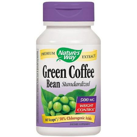 Nature's Way café de haricots verts normalisé Vcaps, 500 mg 60 ch (pack de 2)