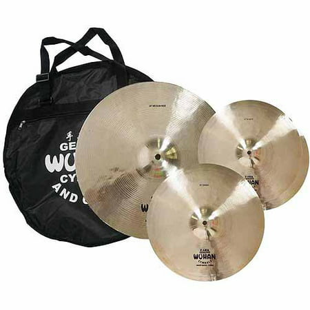 Gold Western Style Mounting - Wuhan WUTBSU Western Style Cymbal Set w/ FREE Cymbal Bag