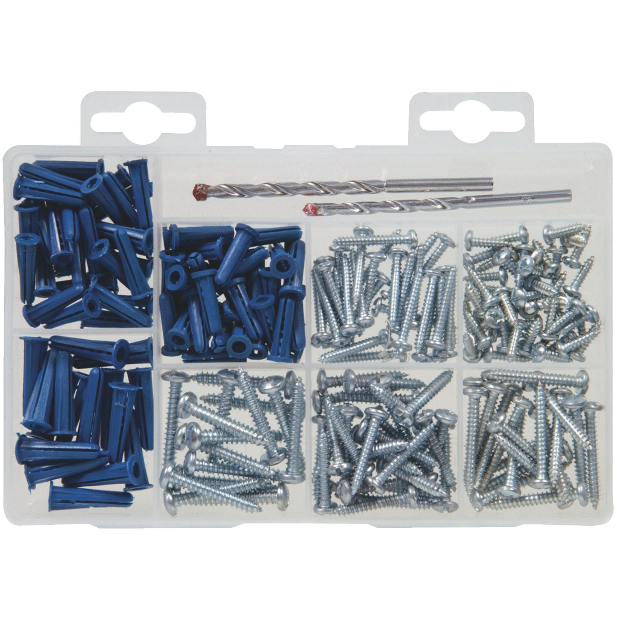 Screw and Anchor Assortment Kit