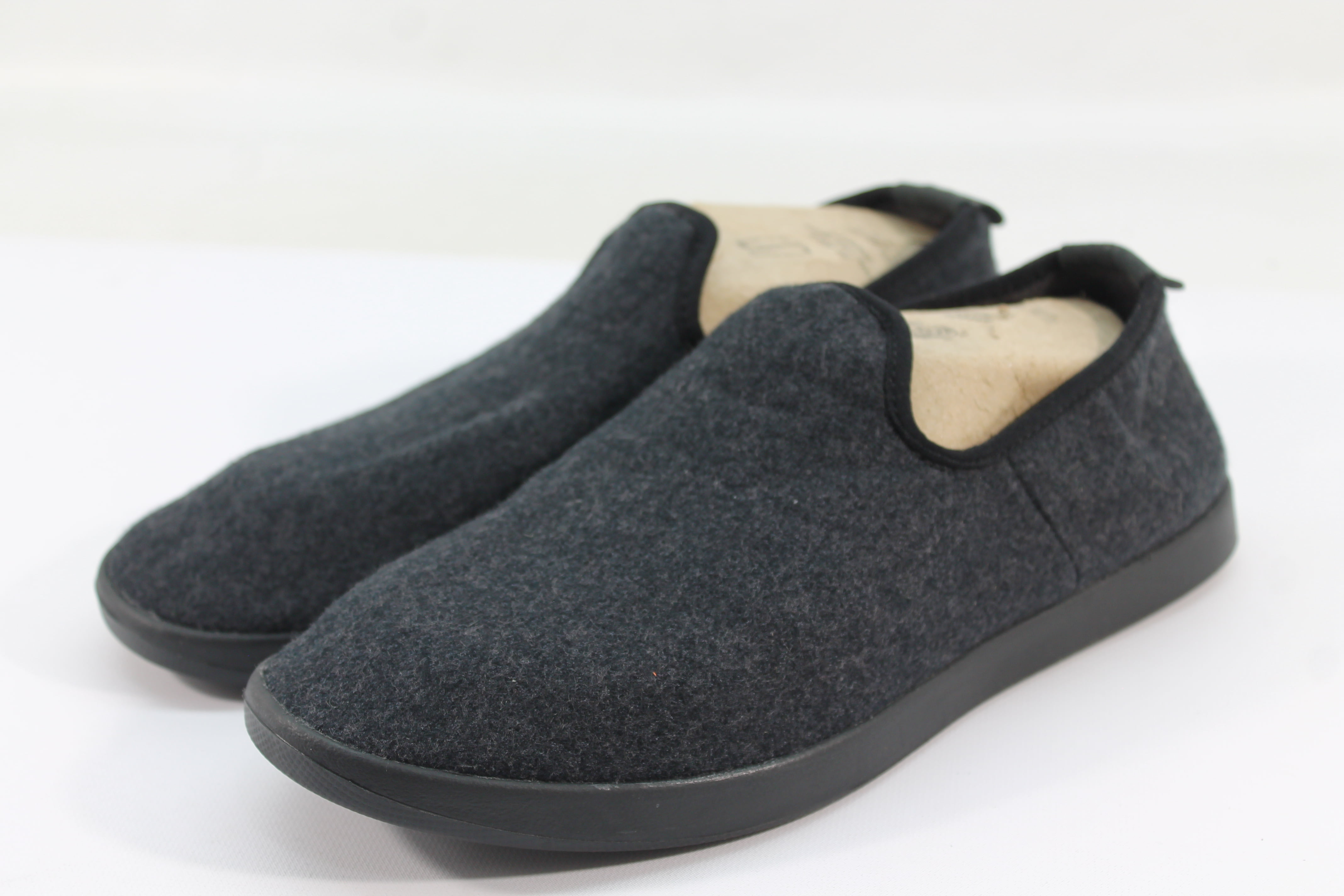 Allbirds Men/'s Wool Loungers Kereu Moonstone//Cream Sole Shoes NW//OB