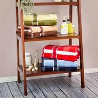 6pc 100% Cotton Bath Towel Set- Luxurious Spa Quality with Velour Finish by Lavish Home