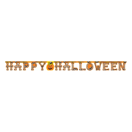 Happy Halloween Party Banner, 1 - Halloween Party Menu Easy
