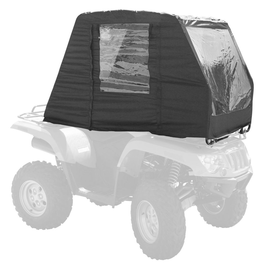 Black ATV Cab Enclosure Canopy Cover
