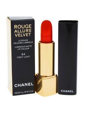 Rouge Allure Velvet Luminous Matte Lip Colour - 64 First Light by Chanel for Women - 0.12 oz Lipstic