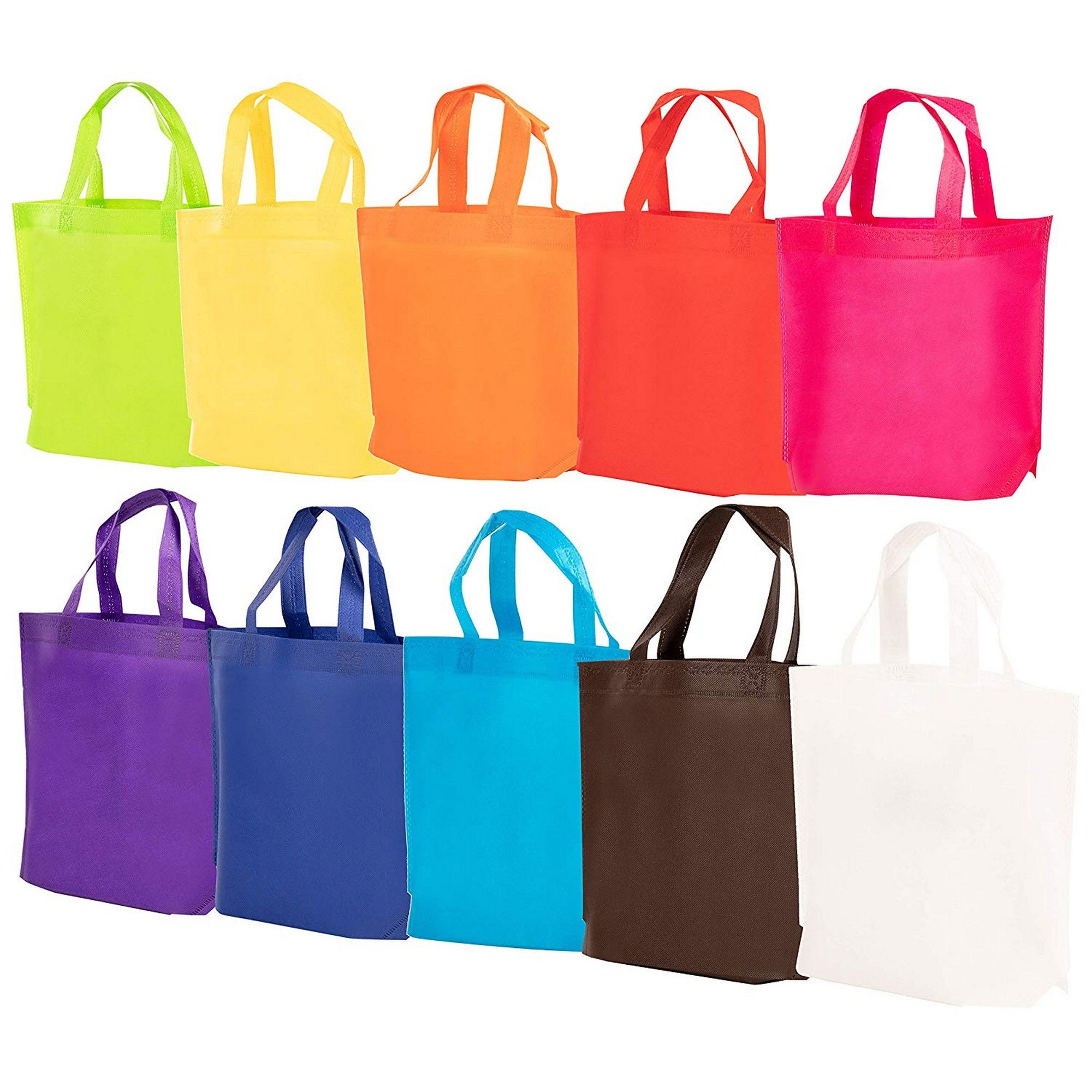 Minecraft Birthday Party Reusable Plastic Party Tote Bag