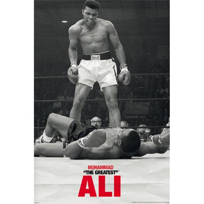Posterazzi PYRPAS0434 Muhammad Ali - Liston - First Round Poster Print - 24 x 36 in. - image 1 de 1