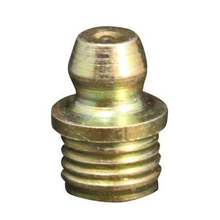 Oil Drill - 0.31 in. Drill Hole Straight Drive Fit Grease Fitting