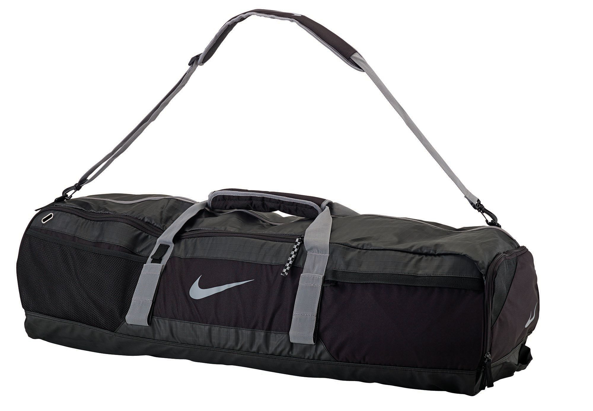 MUOOUM Cool Animal Lion Galaxy Large Duffle Bags Sports Gym Bag with Shoes Compartment for Men and Women