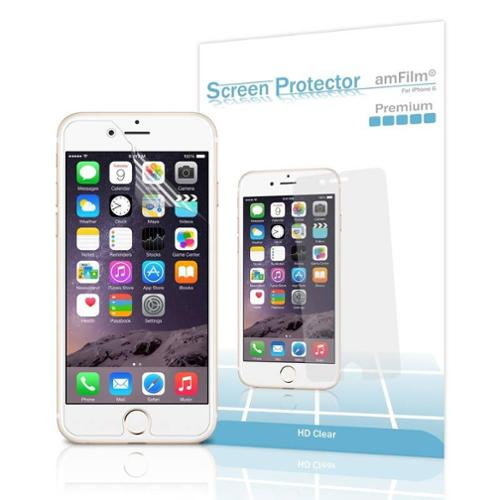 amFilm iPhone 7 6S 6 Screen Protector HD Clear for iPhone 7 6 6S 4.7 inch 2016 2015 (3-Pack)