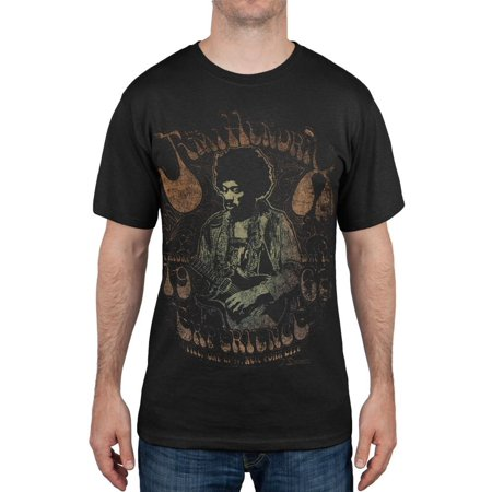 Jimi Hendrix - Fillmore 1968 T-Shirt (Jimi Hendrix Leather)