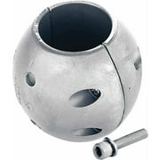 Martyr Streamlined Shaft Zinc Anode with Stainless Steel Slotted Head