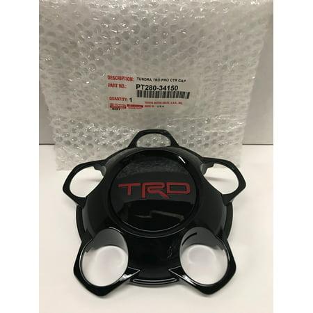Genuine Toyota Tundra 2015-2017 TRD Pro Center Cap Black PT280-34150 ()