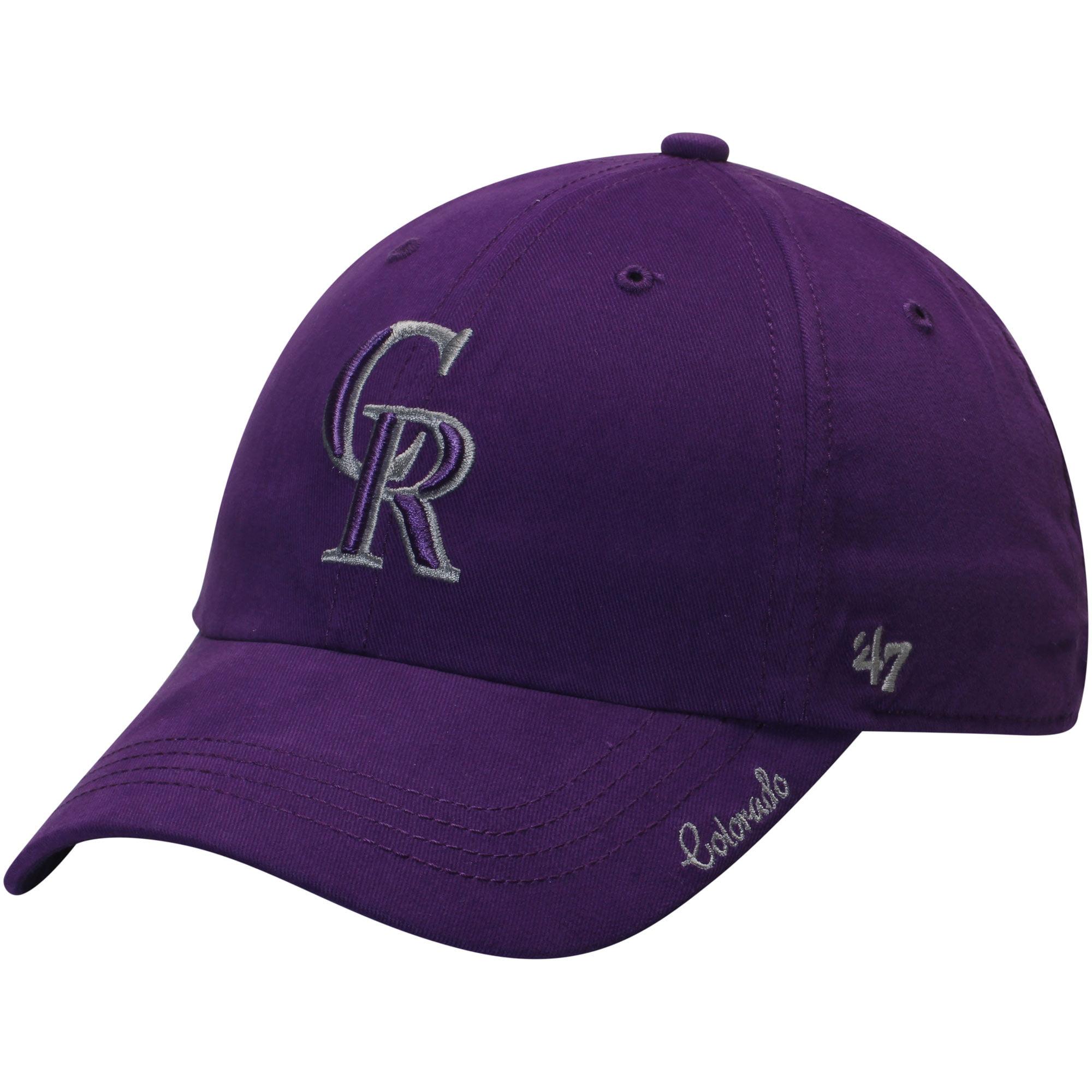 Colorado Rockies '47 Women's Miata Clean Up Adjustable Hat - Purple - OSFA