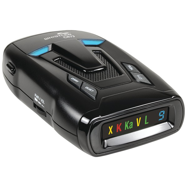 Brand New WHISTLER CR73 CR73 Laser/Radar Detector