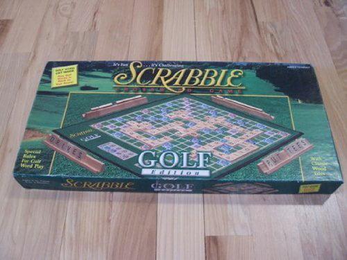 Scrabble Golf Edition Board Game, Scrabble Golf Edition Board Game By Hasbro Ship from US by