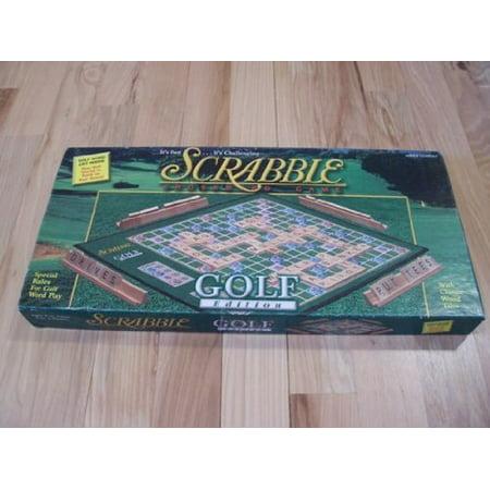 Scrabble Golf Edition Board Game, Scrabble Golf Edition Board Game By Hasbro Ship from US