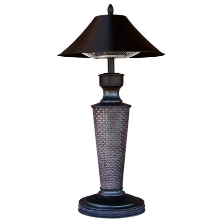 Table lamp electric heater - 1200 watt,