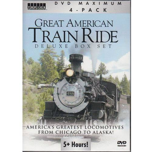 Great American Train Ride: Deluxe Box Set