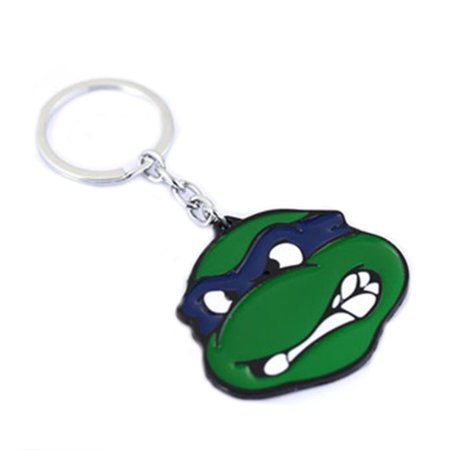 Superheroes TMNT Teenage Ninja Turtles Donatello (Donnie) Keychain for Autos, Home or Boat with Gift Box