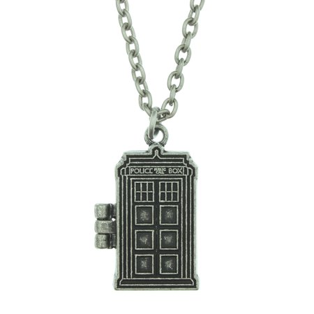 Doctor Who Tardis Locket Necklace](Witch Doctors Necklace)