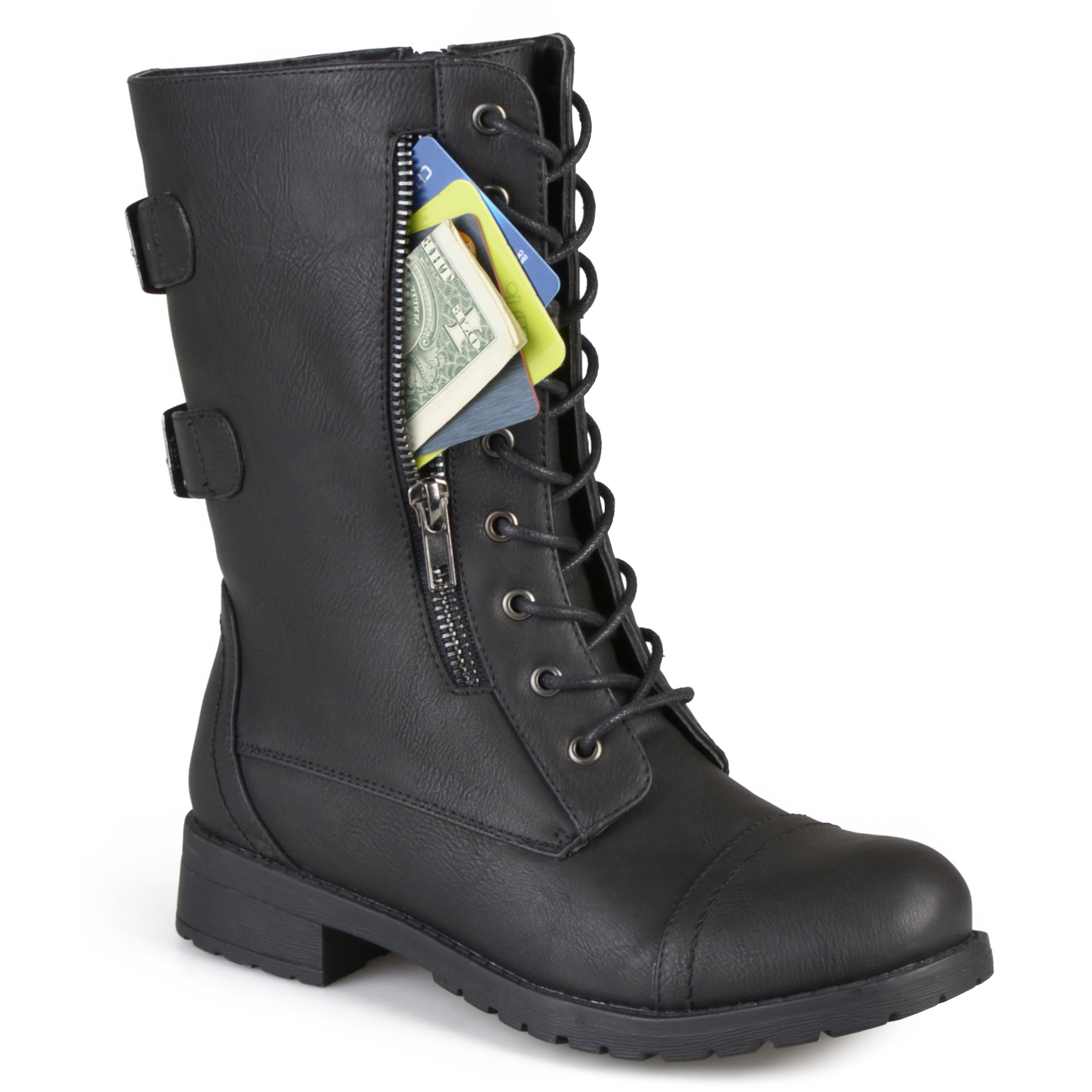 Women's Tasseled Round Toe Boots