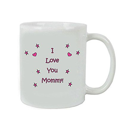 I Love you Mommy Coffee Mug with Gift Box - Expecting Mommy, Mother's Day, World's Best Mommy
