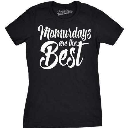 Womens Momurdays Funny T shirts for Mom Mothers Day Gift Idea Weekend Novelty T - Group Dress Up Ideas Funny