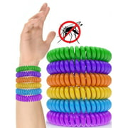 Reactionnx 12 Pack Mosquito Repellent Bracelet Band [320Hrs] of Premium Pest Control Insect