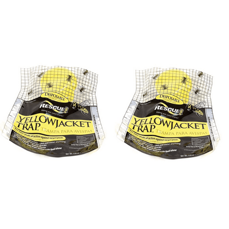 Rescue Yellow Jacket Disposable Trap, 2 unit