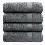 Large Bath Sheet Towel 100% Ring Spun Cotton Towels -Pack of 4