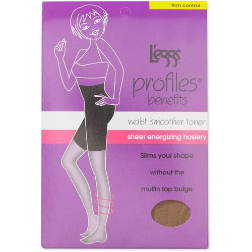 Leggs female High Waist Mid Thigh, Firm Control, Nude, M