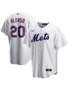 Pete Alonso New York Mets Nike Home 2020 Replica Player Jersey - White
