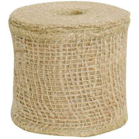 Loose Weave Jute Burlap Ribbon - 2 1/2