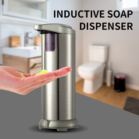 Touchless Automatic Soap Dispenser Liquid Hands-free Auto Hand Soap Dispenser Liquid Soap Dispenser Glass