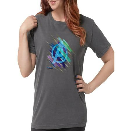 CafePress - Avengers Endgame Logo - Womens Comfort Colors? Shirt - The Avengers Women