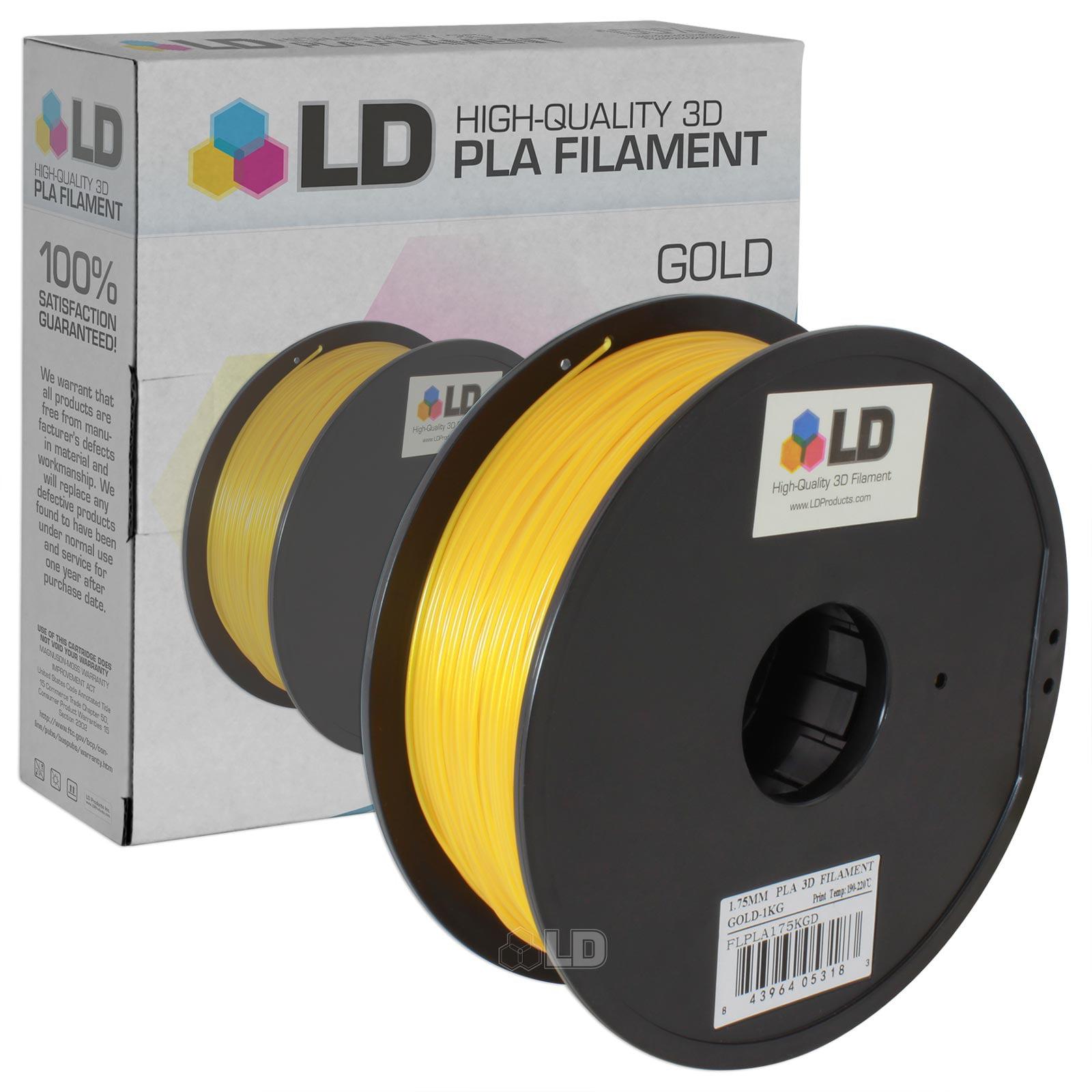 LD 1.75 mm PLA 3D Printer Filament (Multiple Colors)