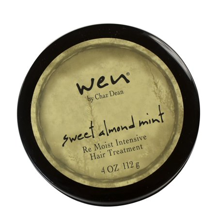 WEN by Chaz Dean Sweet Almond Mint Re Moist Intensive Hair Treatment 4 oz