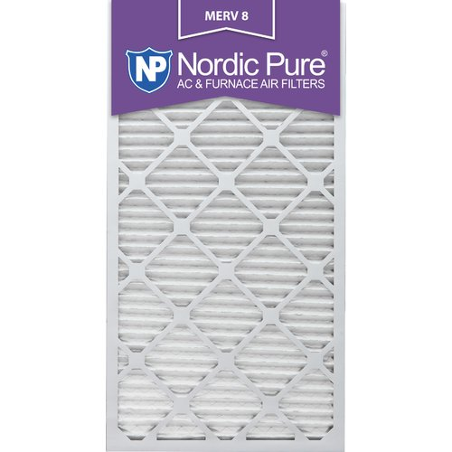 Nordic Pure 12x30x1 MPR 1000 Pleated Micro Allergen Replacement AC Furnace Air Filters 3 Pack