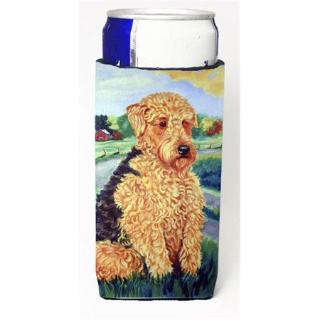 Carolines Treasures 7096MUK Airedale Terrier Michelob Ultra bottle sleeves For Slim Cans - 12 oz. - image 1 of 1