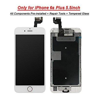 for iphone 6s plus lcd screen touch digitizer full assemb...
