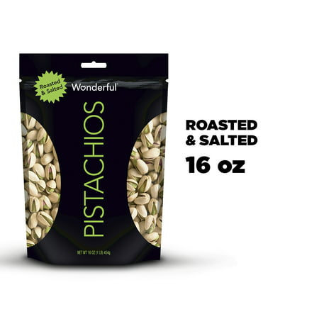 Wonderful Roasted & salted Pistachios, 16 Oz