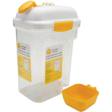 flour sugar container holds 5 pounds. Black Bedroom Furniture Sets. Home Design Ideas
