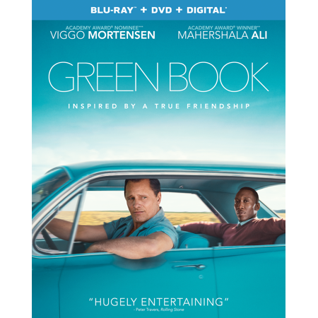 Green Book (Blu-ray + DVD + Digital Copy) - Halloween Blu Ray Media Book